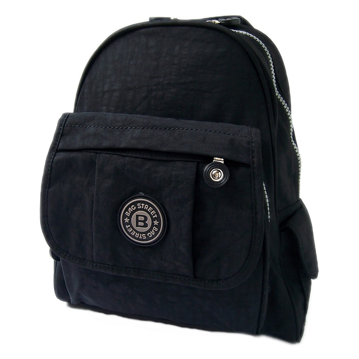 Damen City-Rucksack Freizeit Kinderrucksack Tasche schwarz Ru6034